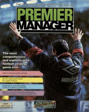 Premier Manager sur Amiga