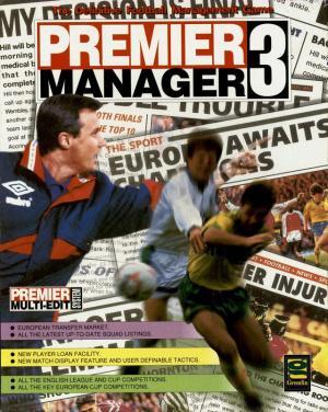 Premier Manager 3 sur Amiga