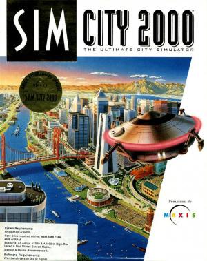 SimCity 2000 sur Amiga