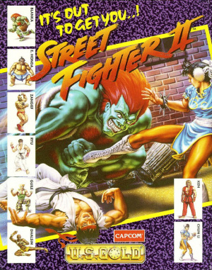 Street Fighter II sur Amiga