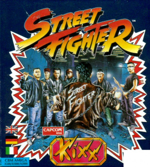 Street Fighter sur Amiga