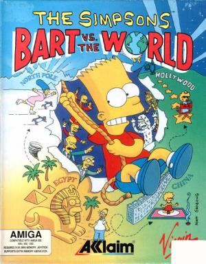 The Simpsons : Bart vs the World