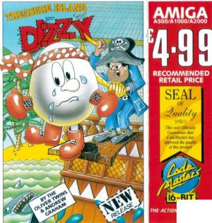 Treasure Island Dizzy sur Amiga