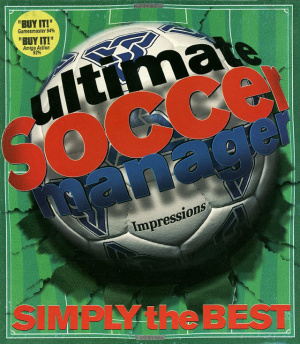 Ultimate Soccer Manager sur Amiga