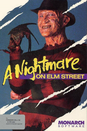 A Nightmare on Elm Street sur C64