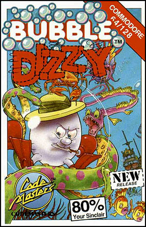 Bubble Dizzy sur C64