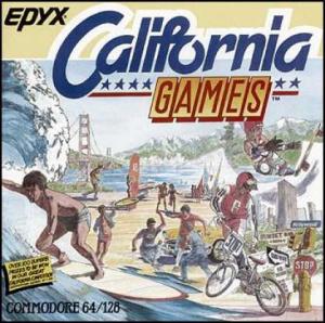 California Games sur C64