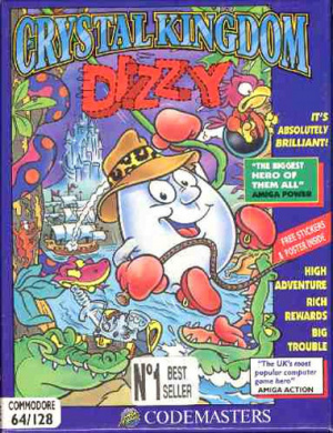 Crystal Kingdom Dizzy sur C64
