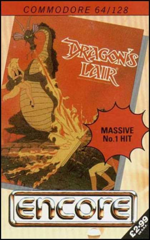 Dragon's Lair sur C64