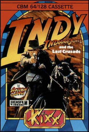 Indiana Jones and the Last Crusade : The Action Game sur C64