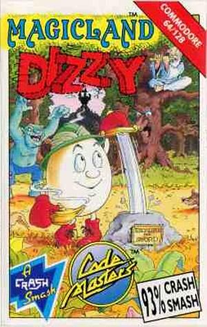Magicland Dizzy sur C64