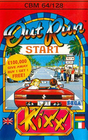 OutRun sur C64