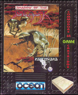Shadow of the Beast sur C64