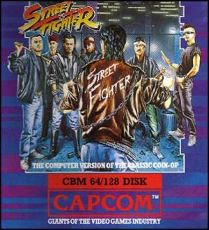 Street Fighter sur C64