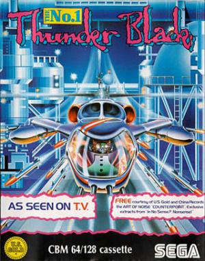 Thunder Blade sur C64