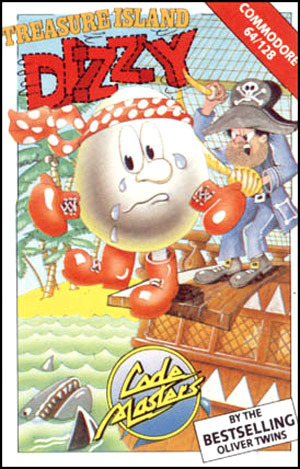 Treasure Island Dizzy sur C64