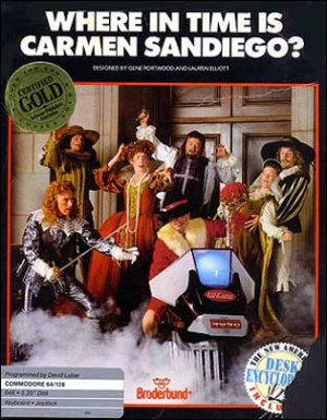 Where in Time is Carmen Sandiego ? sur C64