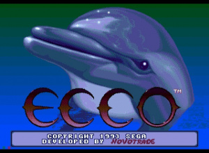 Ecco the Dolphin sur Mega-CD