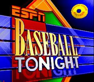 ESPN Baseball Tonight sur Mega-CD