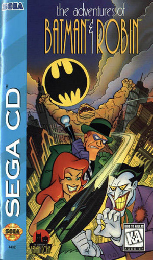 The Adventures of Batman & Robin sur Mega-CD