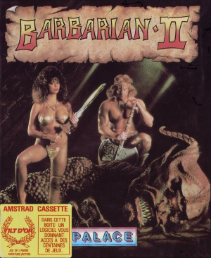 Barbarian II : The Dungeon of Drax sur CPC