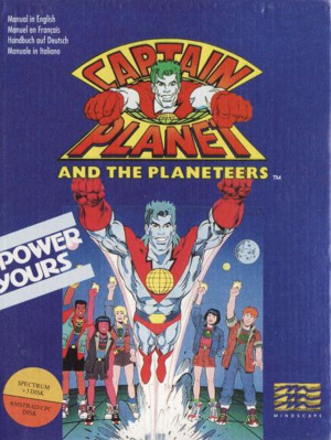 Captain Planet and the Planeteers sur CPC