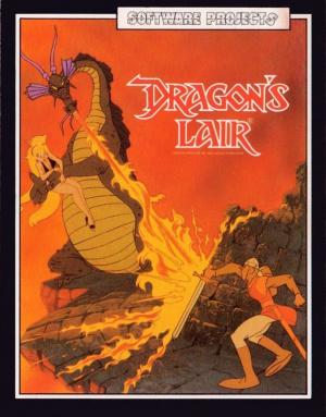 Dragon's Lair sur CPC