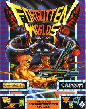 Forgotten Worlds sur CPC
