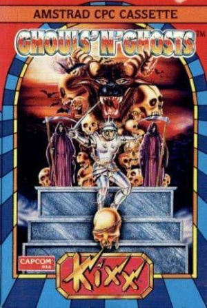 Ghouls'n Ghosts sur CPC