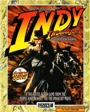 Indiana Jones and the Last Crusade : The Action Game sur CPC