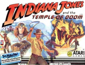 Indiana Jones and the Temple of Doom sur CPC