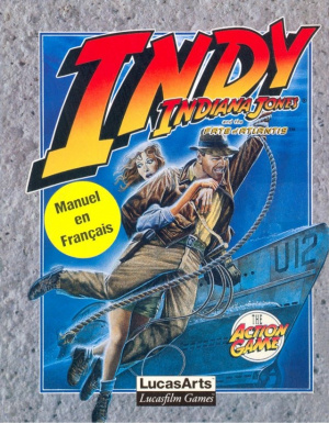 Indiana Jones and the Fate of Atlantis : The Action Game sur CPC