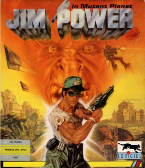 Jim Power in Mutant Planet sur CPC