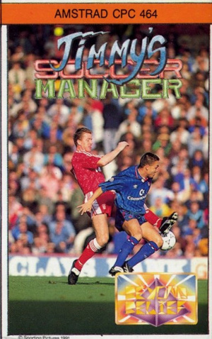 Jimmy's Soccer Manager sur CPC