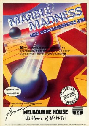 Marble Madness Construction Set sur CPC