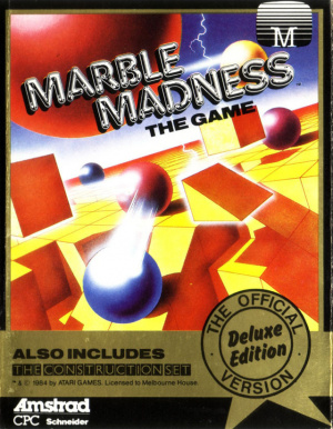 Marble Madness Deluxe Edition sur CPC
