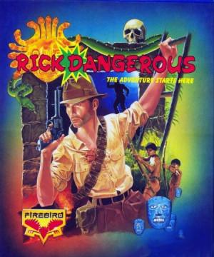 Rick Dangerous sur CPC