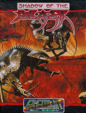 Shadow of the Beast sur CPC