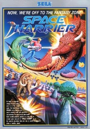 Space Harrier sur CPC