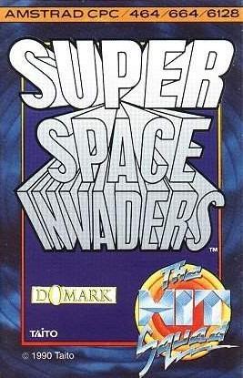 Super Space Invaders sur CPC