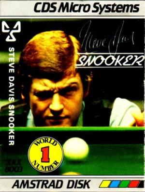 Steve Davis Snooker sur CPC