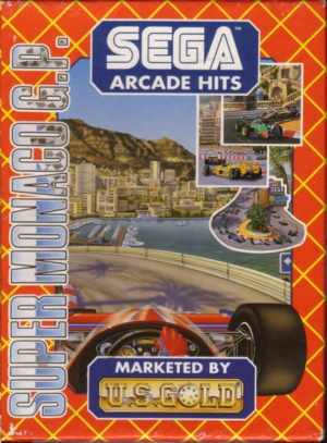 Super Monaco GP sur CPC