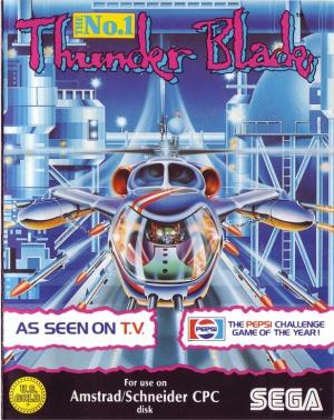 Thunder Blade sur CPC