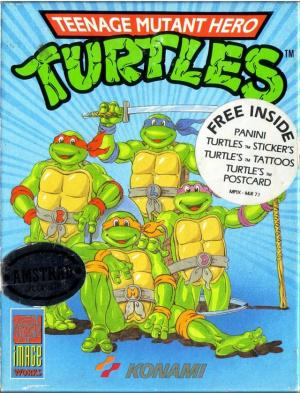 Teenage Mutant Ninja Turtles sur CPC