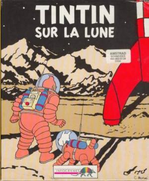 Tintin sur la Lune sur CPC