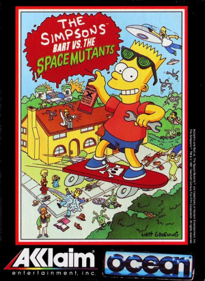 The Simpsons : Bart vs the Space Mutants sur CPC