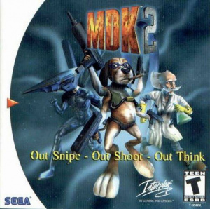 MDK 2 sur DCAST