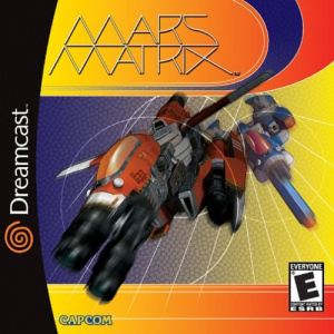 Mars Matrix : Hyper Solid Shooting sur DCAST