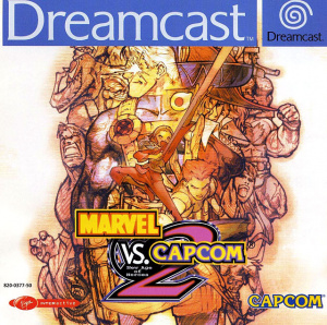 Marvel vs. Capcom 2 : New Age of Heroes sur DCAST