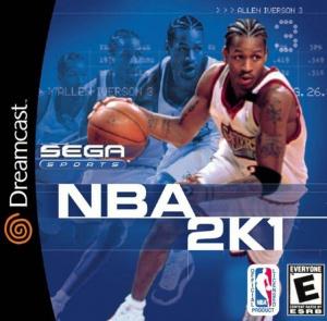 NBA 2K1 sur DCAST